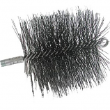 "11"" X 11"" Square, Wire, 3/8"" Npt - Master Sweep Chimney Brush"