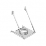"""Secure Temp 6"""" Wall Support Galvalume Adjustable"""