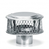 "HomeSaver 304 Alloy 10"" Guardian Cap - 3/4"" Mesh"