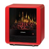 Mini Cube Electric Stove - Gloss Red