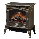Traditional Gloss Bronze Electric Stove - 25 inch
