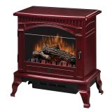 Traditional Gloss Cranberry Electric Stove - 25 inch