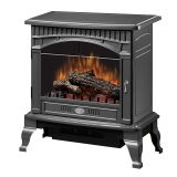 Traditional Gloss Pewter Electric Stove - 25 inch