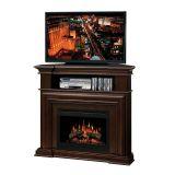 Montgomery Media Console - Log Set Firebox