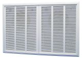 208V Commercial Fan-Forced 13648 BTUs Heater - White