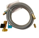 12' Quick Disconnect and Valve Combo Hose Kit