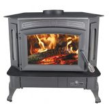Bay Front Wood Stove by Breckwell