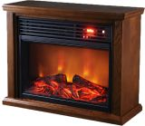 Thermal Wave by SUNHEAT TWFP1510 Infrared Fireplace-Dark Oak