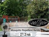 20 Pack Mosquito Mats for CZ500 Ultrasonic Dry Misting Fan