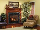 Tahoe Luxury 36 DV MV Fireplace, Door set & Black Reflective Liner, LP
