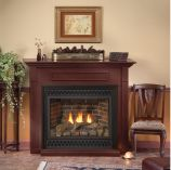 Deluxe 32 Tahoe DV IP Fireplace with Arch Doors, LP