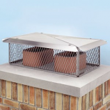 "17"" X 29"" Chimney Protector (10"" High, 3/4"" Mesh)"