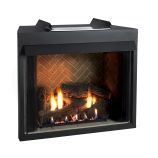 Select 42 VF F-Face Firebox with Canyon Logset and Harmony Burner - LP