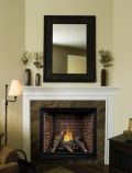 Tahoe Premium 32 Clean Face DV IP Fireplace w/ Logs & BR Liner, NG
