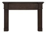 """The Avondale 56"""" Fireplace Mantel in Carmelatto Wire Brushed Finish"""