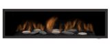 Clean Face Black Surround w/ Safety Barrier for Austin 65L Fireplaces