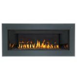 4-Sided Basic Flat Black Surround with Safety Screen - 46.5""