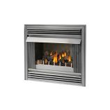 "36"" Outdoor Brushed Stainless Steel Gas Fireplace - Natural Gas"