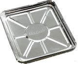 Pack of 12 x 4 Pieces Foil Drip Tray Liners - Includes 48 Total Count