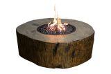 Eco-Stone Burning Stump - Natural Gas