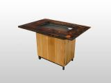 Backyard Hibachi Portable Outdoor Grill - Torched Cypress