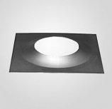 "6"" Diameter, 13"" X 13"" Top Plate (Be Sure To Order Silicone Sealant)"