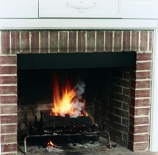 "6"" Black Smokeguard (Fits Fireplaces From 28"" X 48"" Wide)"