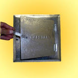 "8"" X 8"" Galvanized Steel Clean-Out Door (Opening Is 8"" X 8"")"