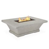 Real Flame Monaco Rectangle Low LP Fire Table - Cream