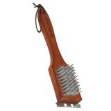 "12"" Wood Grill Brush"