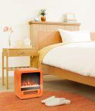 Pacifc Heat Mini Retro Electric Stove - Orange