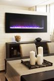 "Pacific Heat 42"" Streamline Flat Wall Mount Electric Fireplace - Black"