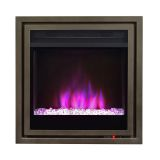 Pacific Heat Full Size Contemporary Electric Fireplace Insert - Bronze