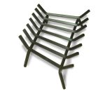 """24"""" Standard Fireplace Grate, 1/2"""" Stainless Steel"""