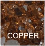 10 Lbs. Copper Fire Glass