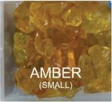10 Lbs. Amber Small Fire Glass