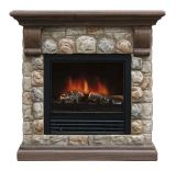 Dublin Polystone Electric Fireplace
