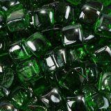 "10 lbs. Fire Cube 5/8"" Emerald Reflective Fire Glass"