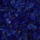"10 lbs. Broken Style 1/2"" Cobalt Non-Reflective Fire Glass"