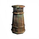 European Queen Octagon Copper Pot