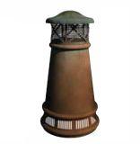 European Bishop Round Copper Pot