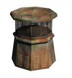 European Pawn Octagon Copper Pot