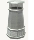 European King Octagon Freedom Gray Pot