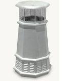 European Queen Octagon Freedom Gray Pot