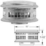 Aluminum DuraCap - 6 inch