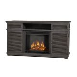 Cavallo Entertainment Unit with Electric Fireplace - Gray