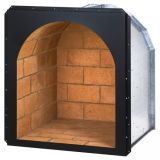 "Superior DHR24I 24"" Arched Wood Nook - Ivory Brick"