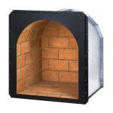 "Superior DHR24 24"" Arched Wood Nook - Warm Red Brick"
