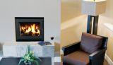 """38"""" EPA Traditional Phase II Wood Burning Fireplace w/White Stacked"""