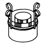 Hi-Temp Chimney Support (For Use w/Chimney Heights In Excess of 30')